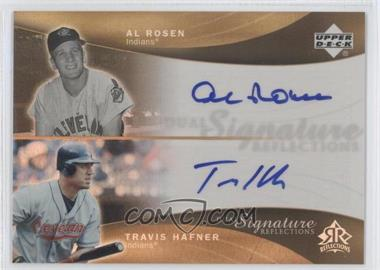 2005 Upper Deck Reflections Dual Signature Reflections #ARTH - Al Rosen