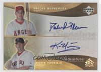 David McCarty, Kevin Youkilis