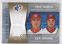 Chad Cordero, Nick Johnson /20