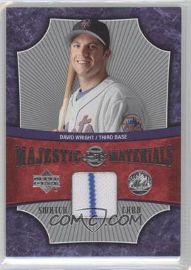 2005 Upper Deck Sweet Spot Majestic Materials #MM-DW - David Wright