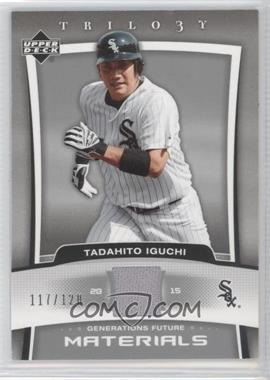2005 Upper Deck Trilogy - Generations Future - Materials [Memorabilia] #FU-TI - Tadahito Iguchi /120