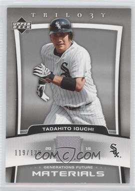 2005 Upper Deck Trilogy Generations Future Materials [Memorabilia] #FU-TI - Tadahito Iguchi /120
