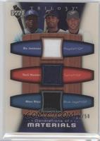 Bo Jackson, Torii Hunter, Alex Rios /50