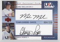 Mark Melancon, Chris Perez /250