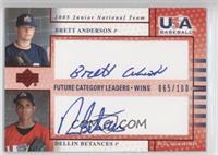 Dellin Betances, Brett Anderson /100