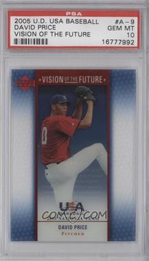 2005 Upper Deck USA Baseball [???] #A-9 - David Price [PSA10]