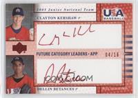 Clayton Kershaw, Dellin Betances /16