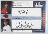 David Price, Ian Kennedy /250