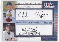 Kevin Gunderson, Jonah Nickerson /250