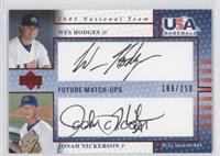 Wes Hodges, Jonah Nickerson /250
