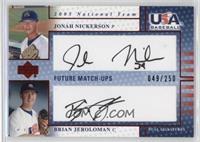 Jonah Nickerson, Brian Jeroloman /250