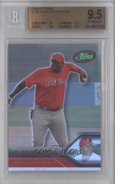 2005 eTopps - [Base] #220 - Ryan Howard [BGS 9.5]