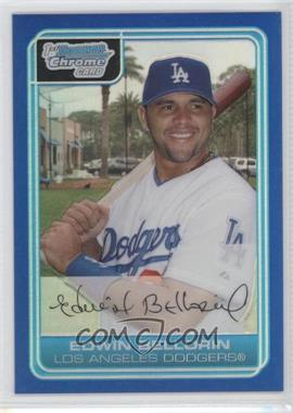 2006 Bowman Chrome - Prospects - Blue Refractor #BC12 - Edwin Bellorin /150