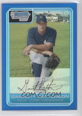 2006 Bowman Chrome Prospects Blue Refractor #BC133 - Garrett Patterson /150