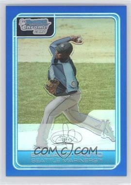 2006 Bowman Chrome Prospects Blue Refractor #BC215 - Emiliano Fruto /150
