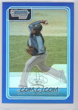 2006 Bowman Chrome Prospects Blue Refractor #BC215 - Emiliano Fruto /150