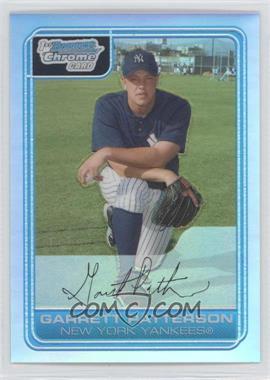 2006 Bowman Chrome Prospects Refractor #BC133 - Garrett Patterson /500