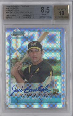 2006 Bowman Chrome Prospects X-Fractor #BC242 - Jose Bautista /225 [BGS 8.5]
