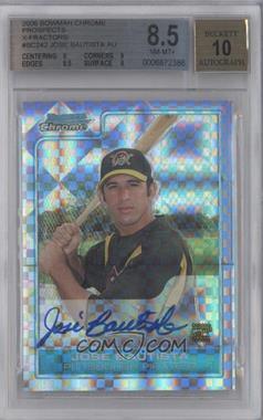 2006 Bowman Chrome Prospects X-Fractor #BC242 - Jose Bautista /225 [BGS8.5]
