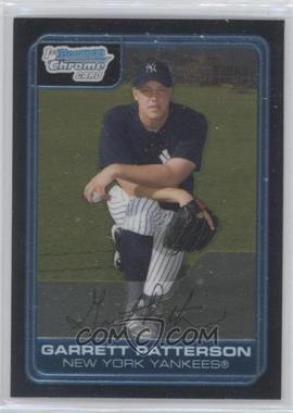 2006 Bowman Chrome Prospects #BC133 - Garrett Patterson