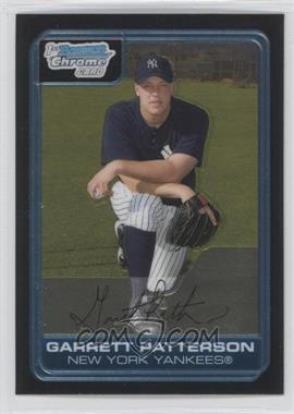2006 Bowman Chrome Prospects #BC133 - Garrett Patterson