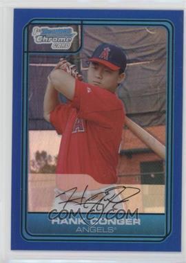 2006 Bowman Draft Picks & Prospects - Chrome Draft Picks - Blue Refractor #DP3 - Hank Conger /199