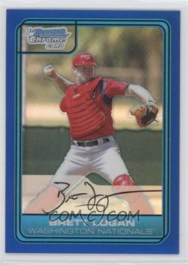 2006 Bowman Draft Picks & Prospects - Chrome Draft Picks - Blue Refractor #DP44 - Brett Logan /199