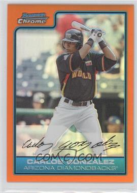2006 Bowman Draft Picks & Prospects - Chrome Futures Game - Orange Refractor #FG43 - Carlos Gonzalez /25