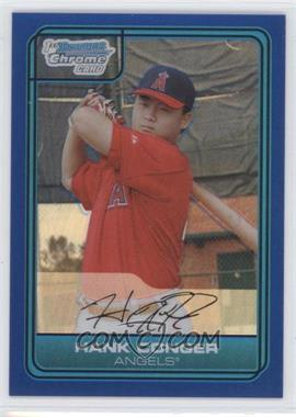 2006 Bowman Draft Picks & Prospects Chrome Draft Picks Blue Refractor #DP3 - Hank Conger /199