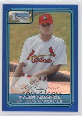 2006 Bowman Draft Picks & Prospects Chrome Draft Picks Blue Refractor #DP42 - Tyler Norrick /199