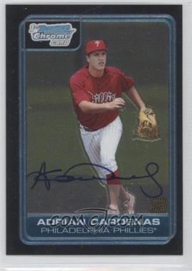 2006 Bowman Draft Picks & Prospects Chrome Draft Picks #DP71 - Adrian Cardenas