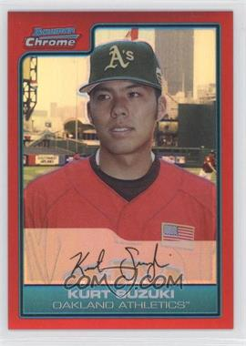 2006 Bowman Draft Picks & Prospects Chrome Futures Game Red Refractor #FG39 - Kurt Suzuki /5