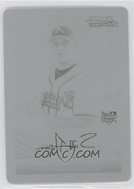 2006 Bowman Draft Picks & Prospects Chrome Printing Plate Black #BDP27 - Scott Thorman /1