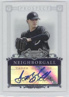 2006 Bowman Sterling - Prospect Certified Autographs - [Autographed] #BSP-JN - Jason Neighborgall