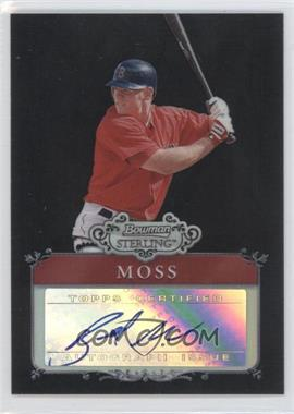 2006 Bowman Sterling Prospects Black Refractor Uncirculated #BSP-BM - Brandon Moss /25