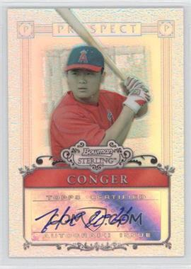 2006 Bowman Sterling Refractor Certified Autograph [Autographed] #BSP-HC - Hank Conger /199