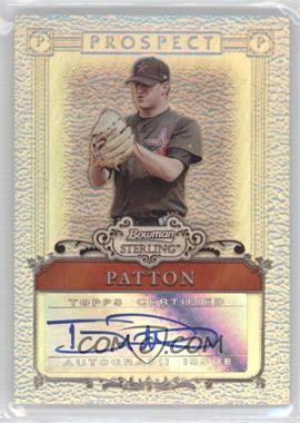 2006 Bowman Sterling Refractor Certified Autograph [Autographed] #BSP-TP - Troy Patton /199