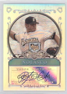 2006 Bowman Sterling Refractor #BS-RN - Ricky Nolasco /199