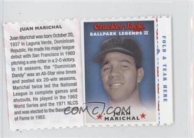 2006 Cracker Jack Ballpark Legends II - Food Issue [Base] #N/A - Juan Marichal