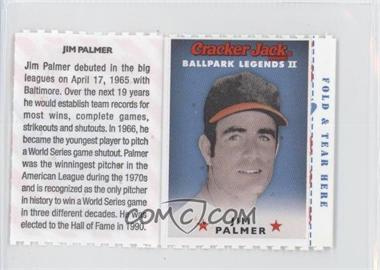 2006 Cracker Jack Ballpark Legends II Food Issue [Base] #N/A - Jim Palmer