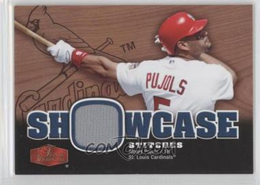 2006 Flair Showcase - Showcase Stitches #SS-AP - Albert Pujols