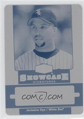 2006 Flair Showcase [???] #SH-JD - Jermaine Dye /1