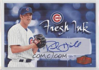 2006 Flair Showcase Fresh Ink [Autographed] #FI-RH - Rich Hill