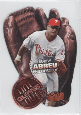2006 Flair Showcase Hot Gloves #HG-3 - Bobby Abreu