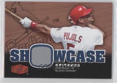 2006 Flair Showcase Showcase Stitiches #SS-AP - Albert Pujols