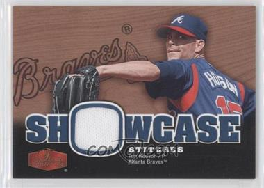 2006 Flair Showcase Showcase Stitiches #SS-HU - Tim Hudson