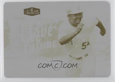2006 Flair Showcase Wave of the Future Printing Plate Yellow #WF-19 - Cody Ross /1