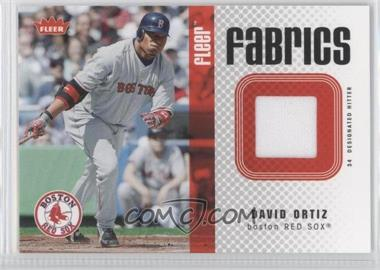 2006 Fleer - Fabrics #FF-DO - David Ortiz