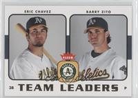 Eric Chavez, Barry Zito