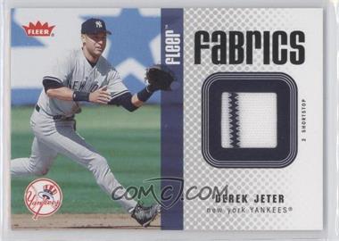2006 Fleer Fabrics #FF-DJ - Derek Jeter